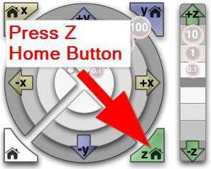 Press Z Home Button