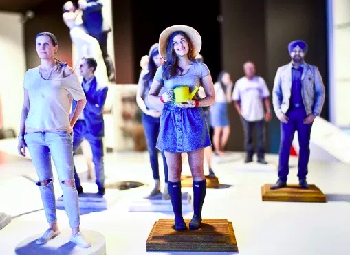 3d Printed Figurines Of Yourself